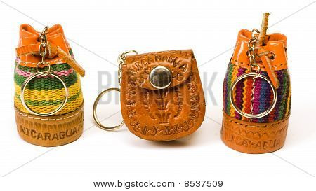 Keychain Souvenirs From Nicaragua