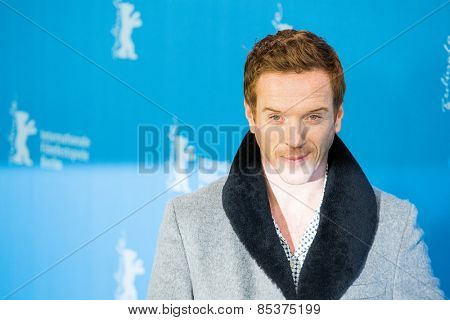 BERLIN, GERMANY - FEBRUARY 06: Actor Damian Lewis attends the 'Queen of the Desert' photo call during the 65th Film Festival at Hyatt Hotel February 6, 2015 in Berlin, Germany.