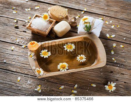 Aromatherapy Spa Set Of Chamomile