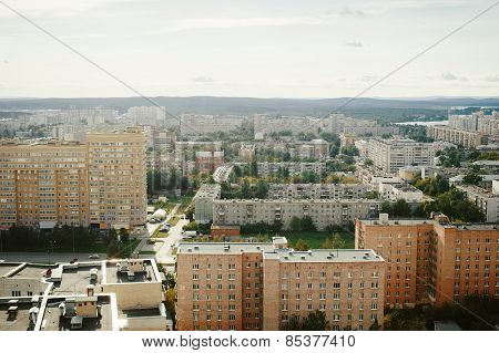 Typical Russian City View