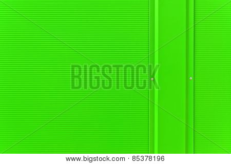 Abstract Background Of Lime Green Metal