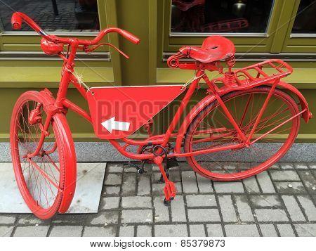 Rental bike in Wroclaw, Poland