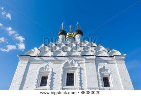 Domes And Kokoshniks Of The Church In Kolomna