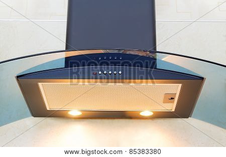 Kitchen Equipment - Hood For Air Purification.