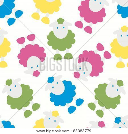 Lamb Kids Pattern