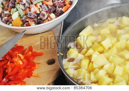 Preparation Of  Ragoutpreparation Of  Ragoutpreparation Of  Rago