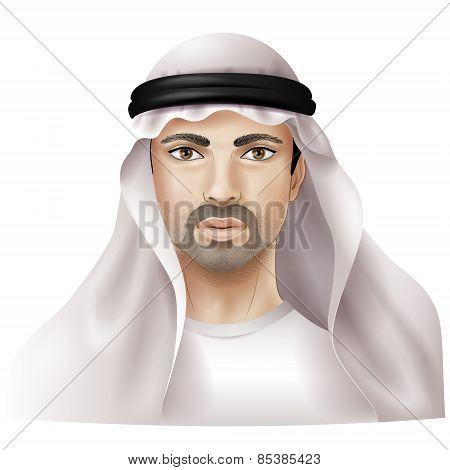 Man In Keffiyeh