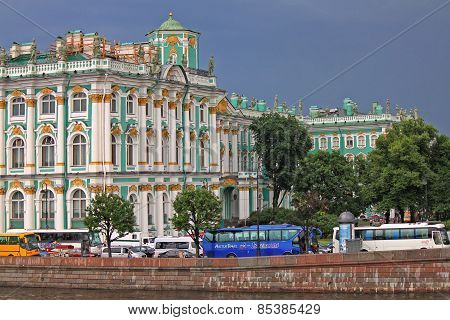 The Hermitage. St. Petersburg, Russia
