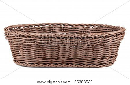 Braiding Wicker Basket