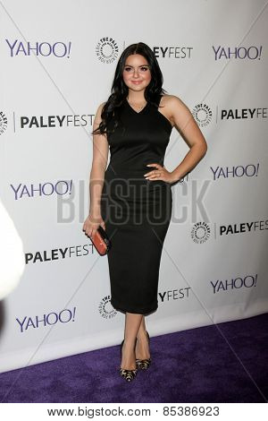 LOS ANGELES - MAR 14:  Ariel Winter at the PaleyFEST LA 2015 -