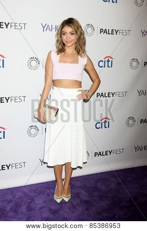 LOS ANGELES - MAR 14:  Sarah Hyland at the PaleyFEST LA 2015 -