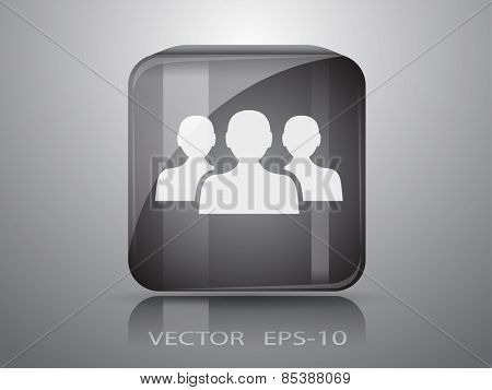 icon of team work