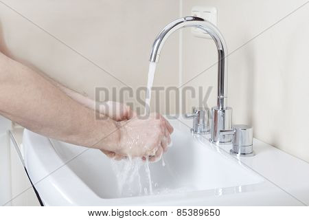Hands Under The Tap