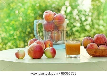 Juice of apricot