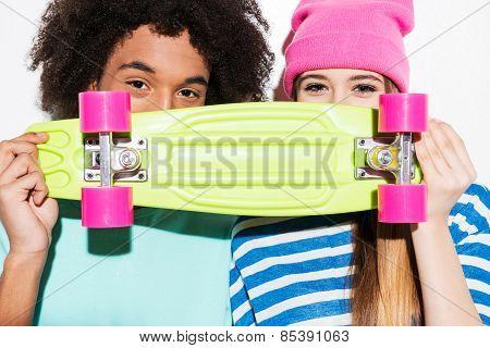Skateboard Lovers.