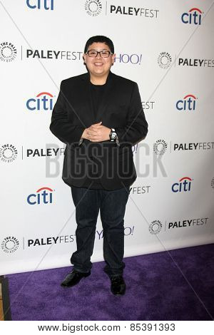 LOS ANGELES - MAR 14:  Rico Rodriguez at the PaleyFEST LA 2015 -