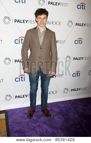 LOS ANGELES - MAR 14:  Nolan Gould at the PaleyFEST LA 2015 -