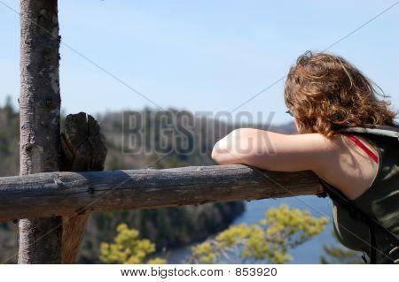 Girl Daydreaming