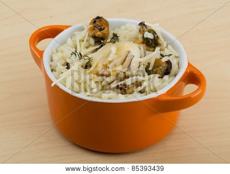 Risotto With Mussels