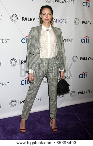 LOS ANGELES - MAR 14:  Willa Holland at the PaleyFEST LA 2015 -