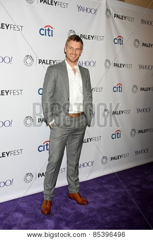 LOS ANGELES - MAR 14:  Rick Cosnett at the PaleyFEST LA 2015 -