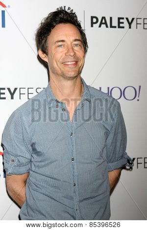 LOS ANGELES - MAR 14:  Tom Cavanagh at the PaleyFEST LA 2015 -