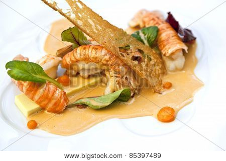 Sea Food Dish