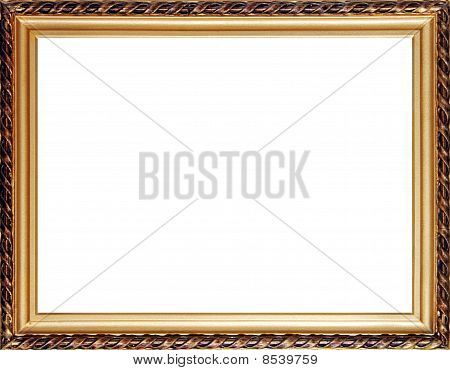 Old Russian Style Photo Frame