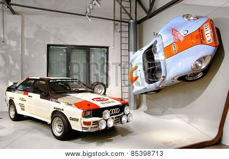 Audi Quattro And Colani Gt