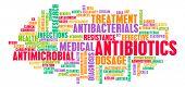 stock photo of antibiotics  - Antibiotics or Antimicrobial Pills as a Concept - JPG