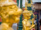 pic of garuda  - Grand palace Garuda Wat Phra Kaew Bangkok Thailand - JPG
