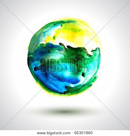 Vector Spot Earth