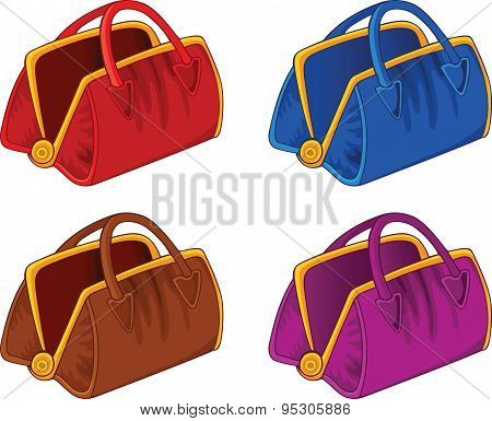 Color Handbags
