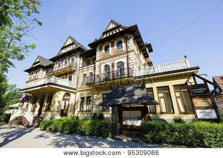 Grand Hotel Stamary In City Of Zakopane