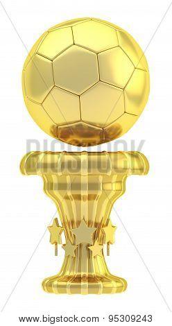 Award football sport trophy cup