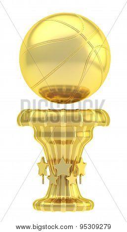 Award basketball sport trophy cup