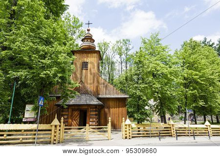 Old Wooden Church In Zakopane