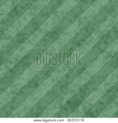 Green Striped Tile Pattern Repeat Background