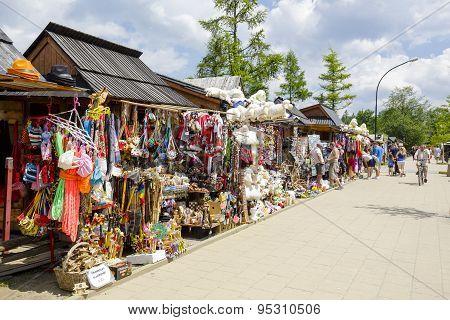 Commercial Pavilions, Sales Of Various Souvenirs