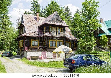 Wooden Villa Named Lucylla, Zakopane
