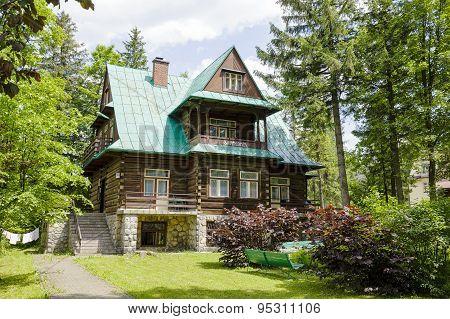 Wooden Villa Named Swiatlomir, Zakopane