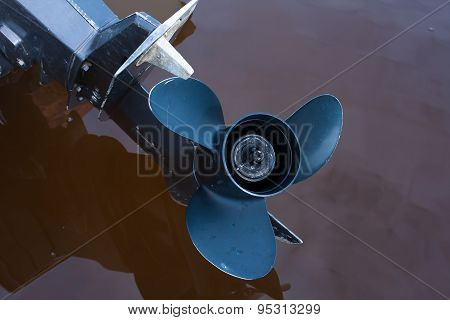 Boat Engine Propeller