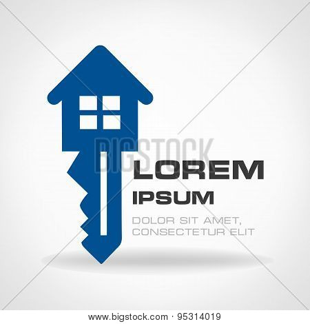 house - key symbol