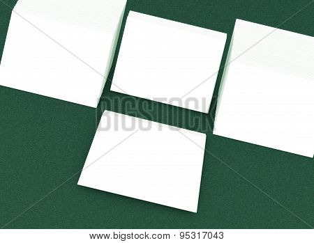 Many Cards. Template To Presentation