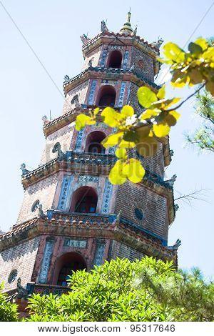 Hue, The  Pagoda Tu Hieu