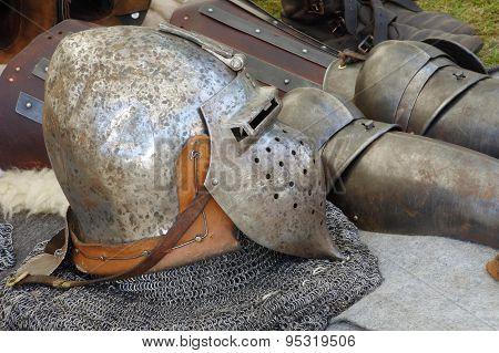 Helmet medieval armor