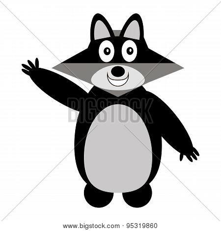Raccoon Icon.