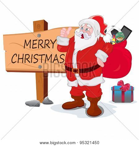 boots, card, cartoon, character, christmas, claus, color, comic, expression, friend, fun, funny, gi