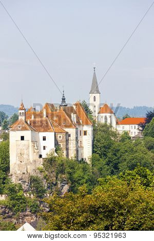 Castle of Raabs an der Thaya, Lower Austria, Austria
