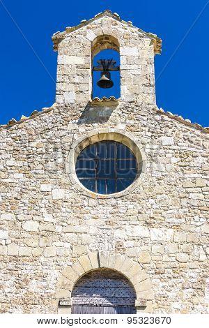 close up of Chapel St. Jean de Crupies, Rhone-Alpes, France
